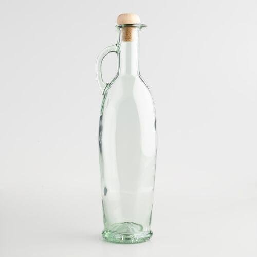 Glass Oil Bottle with Handle