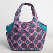 Tile Print Jane Lunch Bag