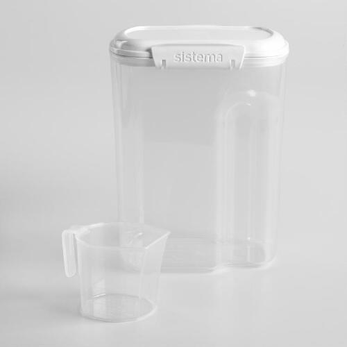 Sistema Bake It Sugar Storage Container with Cup