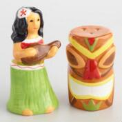 Hawaii Ceramic Salt and Pepper Shaker Set