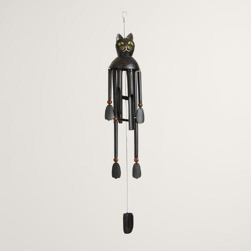 Black Cat Windchime