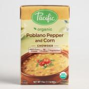 Pacific Soups Poblano Pepper and Corn Chowder Set of 2