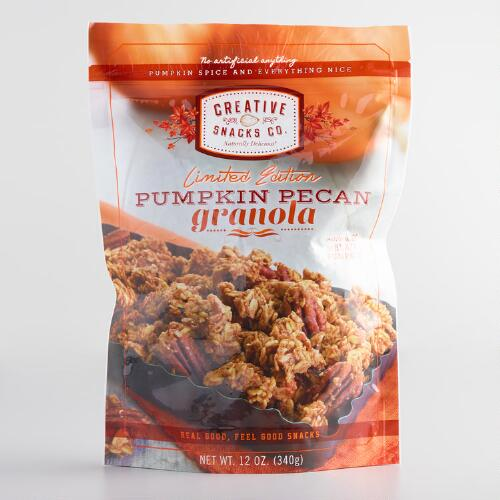 Creative Snacks Pumpkin Pecan Granola