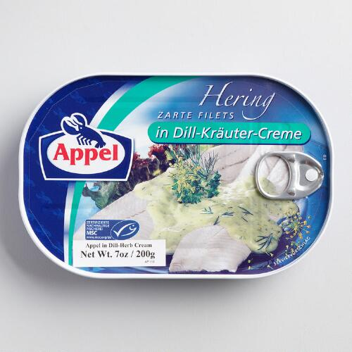 Appel Herring in Dill Cream Sauce