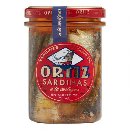 Ortiz Sardines in Extra Virgin Olive Oil