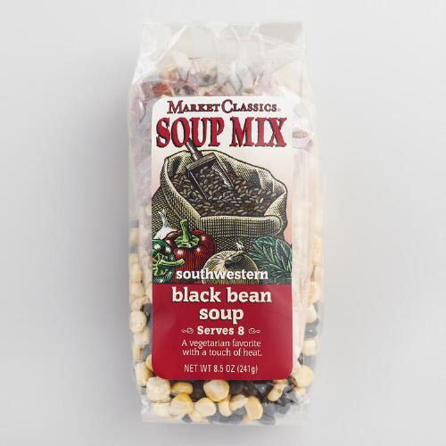 Market Classics Southwest Black Bean Soup Set of 2