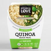 Cucina and Amore Basil Pesto Quinoa Meal