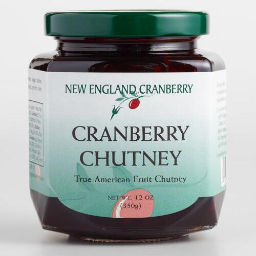 New England Colonial Cranberry Chutney