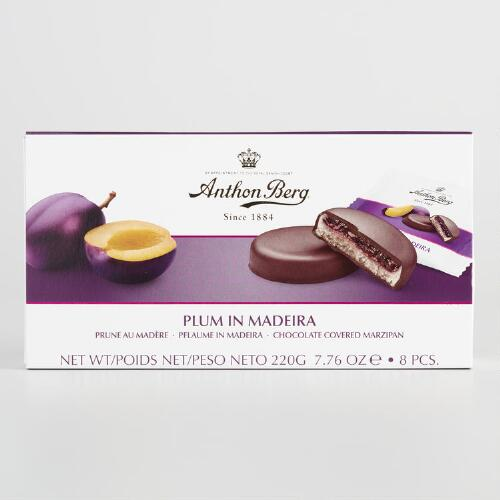 Anthony Berg Plum in Madeira Marzipan Chocolates