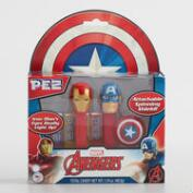 Avengers Pez Dispenser and Candy Set of 2