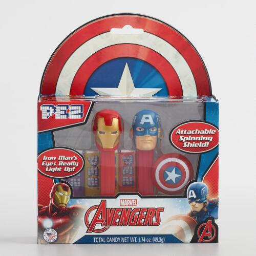 Avengers Pez Dispenser and Candy 2 Pack