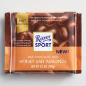 Ritter Sport Milk Chocolate Honey Salted Almonds Set of 11