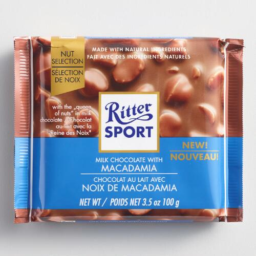 Ritter Sport Milk Chocolate with Macadamia Nuts Set of 11