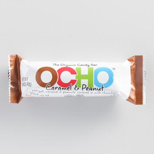 Ocho Milk Chocolate Caramel Peanut Bar