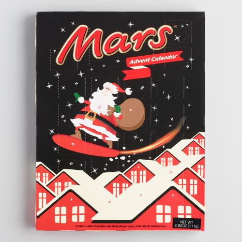 Mars Chocolate Advent Calendar World Market