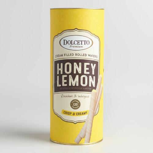Dolcetto Honey Lemon Wafer Rolls