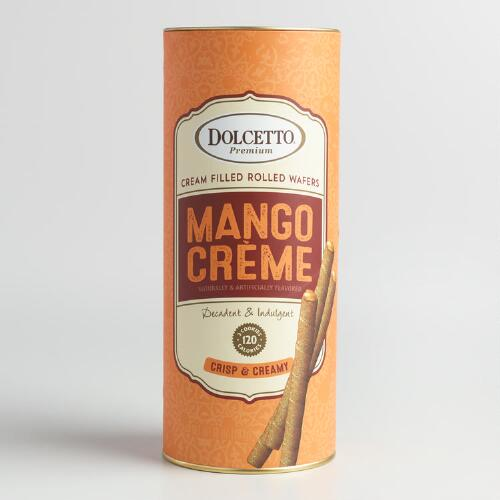 Dolcetto Mango Creme Wafer Rolls