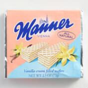 Manner Vanilla Cream Wafer Cookie