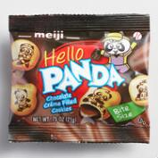 Meiji Hello Panda Chocolate Creme Filled Cookies