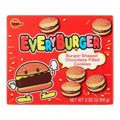 Every Burger Chocolate and Sesame Cookies