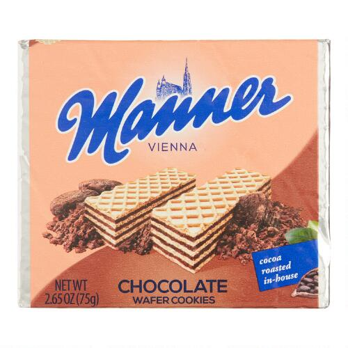 Manner Milk Chocolate Cream Wafer Cookie