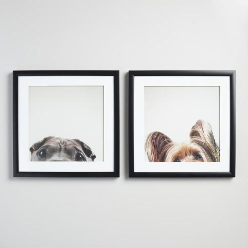 Eyes by Susan Sabo with Frame Set of 2