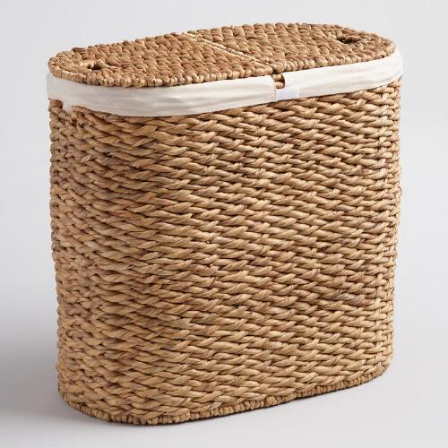 Natural Hyacinth Harper Double Hamper