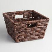 Espresso Seagrass Double Twist Betty Basket