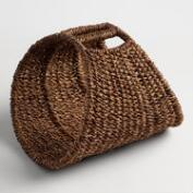 Grass Luke Log Basket