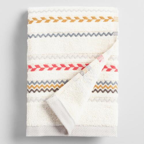 Striped Liya Hand Towel