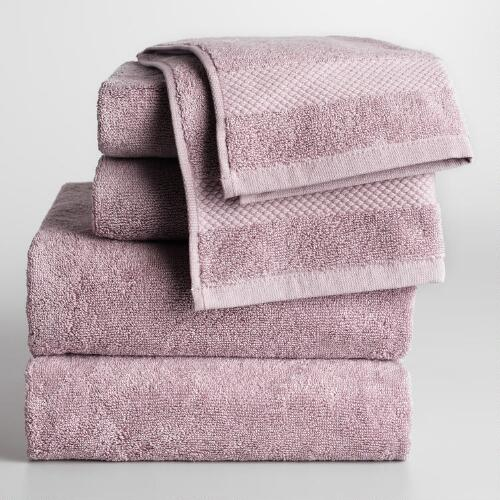 Lavender Cotton Towel Collection