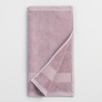 Lavender Cotton Washcloth Set of 2