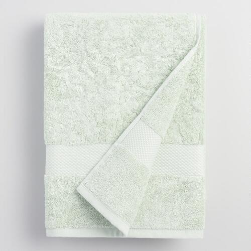 Mint Cotton Bath Towel