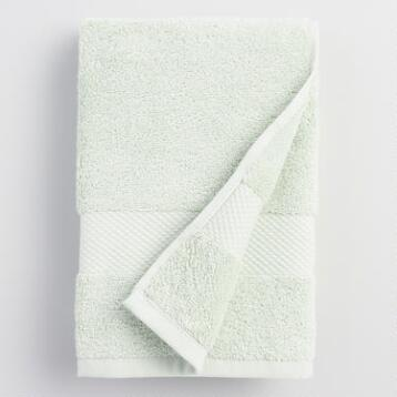 Mint Cotton Hand Towel