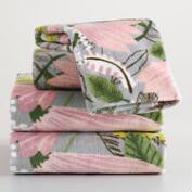 Gigi Floral Printed Towel Collection