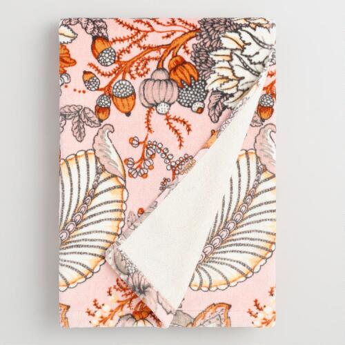 Aerin Floral Printed Velour Bath Towel