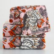 Aerin Floral Printed Towel Collection
