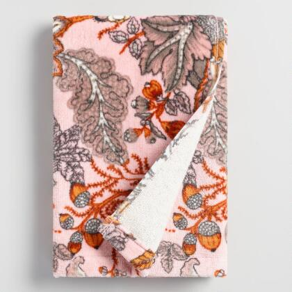 Aerin Floral Printed Velour Hand Towel