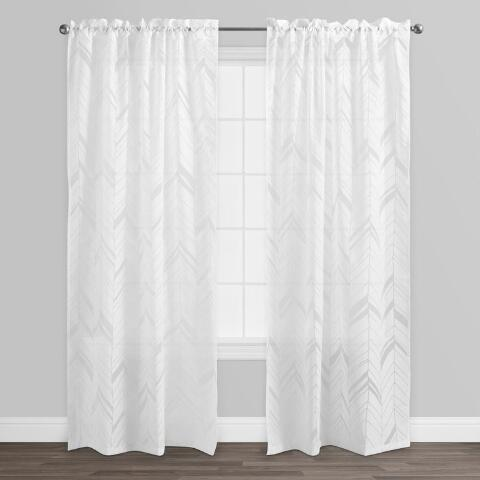 Burnout Curtains White Arrow Burn...