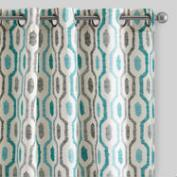 Geo Cotton Jackson Curtains Set of 2