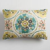 Cool Suzani Jacquard Lumbar Pillow