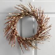 Live Pussy Willow Wreath