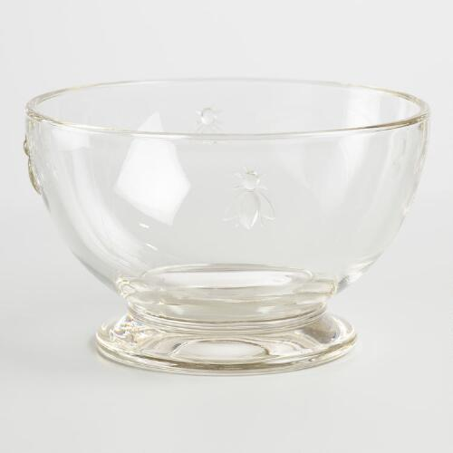 Bee Glass Bowls Set of 6