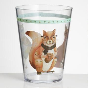 Animal Acrylic Tumblers Set of 6