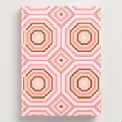 Geo Modern Hardcover Journal
