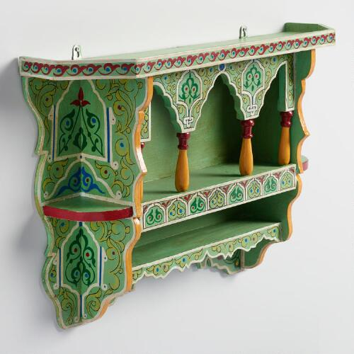 Painted Souk Spice Rack