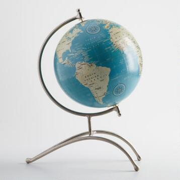 Contemporary Globe on Stand