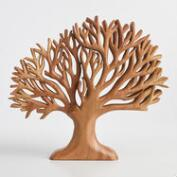 Thai Wood Tree Wall Hanging