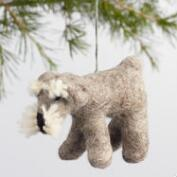 Wool Dog Ornaments Set of 3