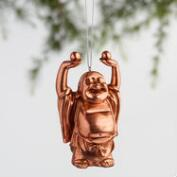 Chinese Style Happy Buddha Ornaments Set of 3